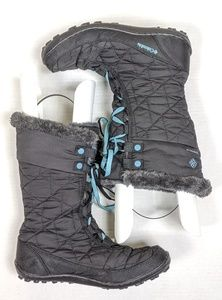 Columbia Minx Mid 2 Omni Heat Black  Waterproof